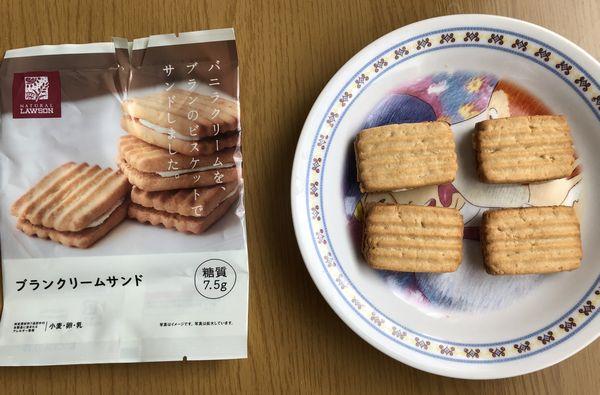 第3位 ブランクリームサンド 糖質7.5g